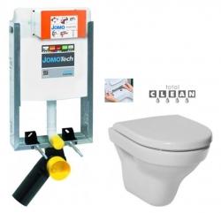 JOMO modul pre zamurovanie bez sedátka + WC JIKA TIGO + SEDADLO duraplastu RÝCHLOUPÍNACIE (164-14600479-00 TI1)