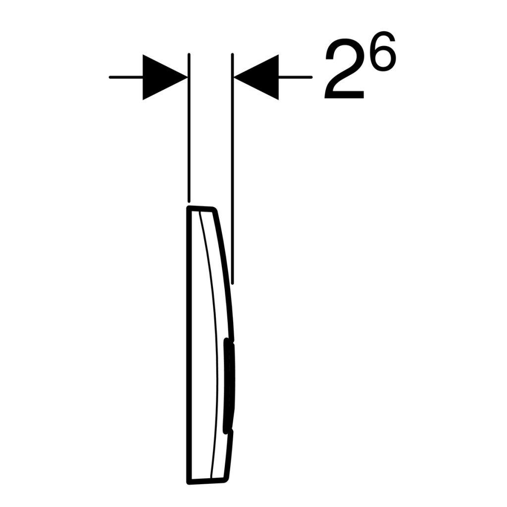 GEBERIT KOMBIFIXBasic vr. chrómového tlačidla DELTA 51 + WC JIKA LYRA PLUS + SEDADLO duraplastu (110.100.00.1 51CR LY6)
