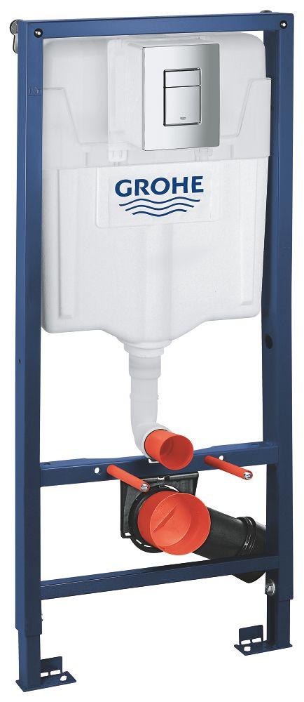 Rapid SL pre závesné WC 38528SET s chrómovou doskou + WC JIKA LYRA PLUS + SEDADLO duraplastu (38772001 LY6)