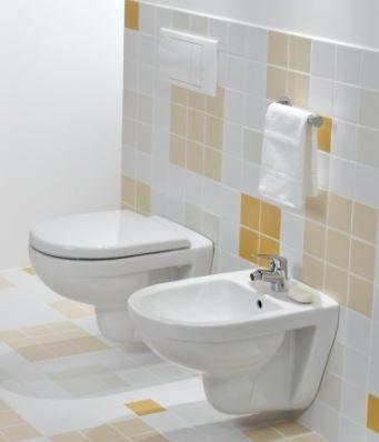 GEBERIT DuofixBasic s bielym tlačidlom DELTA21 + WC JIKA LYRA PLUS + SEDADLO duraplastu (458.103.00.1 21BI LY6)