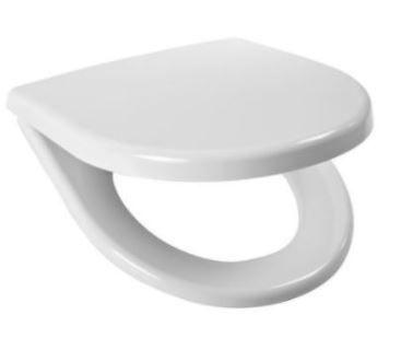 GEBERIT DuofixBasic s bielym tlačidlom DELTA50 + WC JIKA LYRA PLUS + SEDADLO duraplastu (458.103.00.1 50BI LY6)