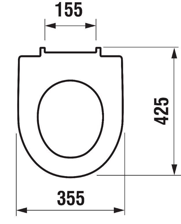 ALCAPLAST  Renovmodul - predstenový inštalačný systém bez tlačidla + WC JIKA LYRA PLUS + SEDADLO duraplastu (AM115/1000 X LY6)
