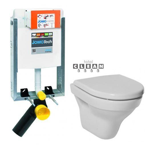 JOMO modul pre zamurovanie bez sedátka + WC JIKA TIGO + SEDADLO duraplastu 164-14600479-00 TI3