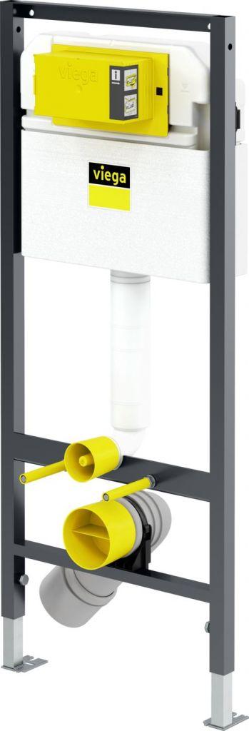 VIEGA Presvista modul DRY pre WC vrátane tlačidla Style 20 bielej + WC JIKA LYRA PLUS + SEDADLO duraplastu (V771973 STYLE20BI LY6)
