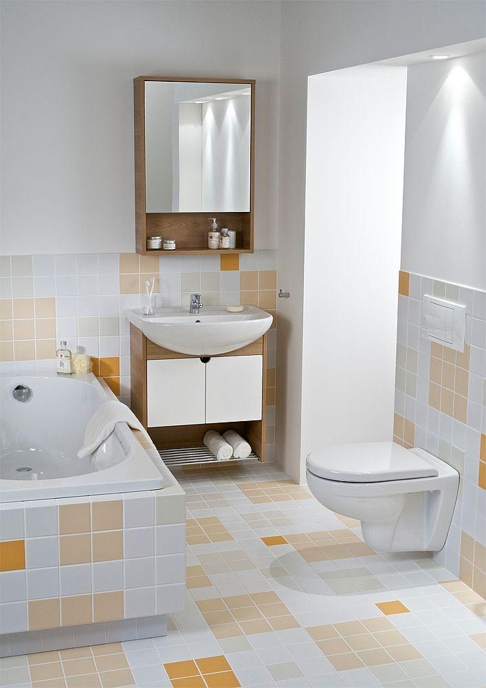 GEBERIT KOMBIFIXBasic vr. bieleho  tlačidla DELTA 50 + WC JIKA LYRA PLUS + SEDADLO duraplastu SLOWCLOSE (110.100.00.1 50BI LY5)