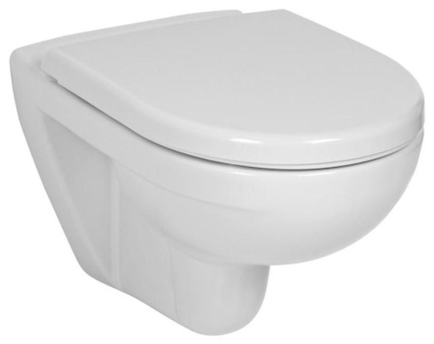 GEBERIT Duofix bez ovládacej dosky + WC JIKA LYRA PLUS + SEDADLO duraplastu SLOWCLOSE (111.300.00.5 LY5)