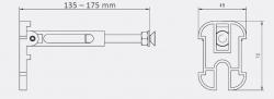 JOMOTech modul pre závesné WC bez sedátka + WC JIKA TIGO + SEDADLO duraplastu (174-91100700-00 TI3), fotografie 22/11