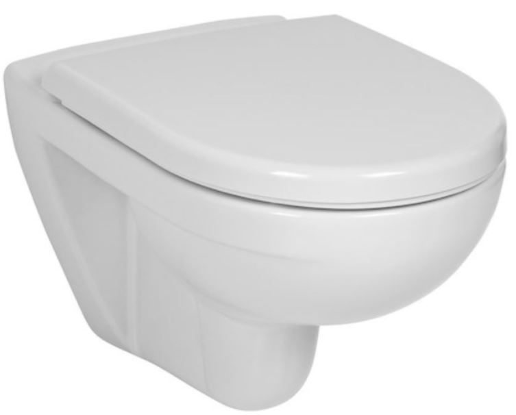 ALCAPLAST Sádromodul - predstenový inštalačný systém bez tlačidla + WC JIKA LYRA PLUS + SEDADLO duraplastu SLOWCLOSE (AM101/1120 X LY5)