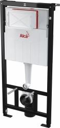 ALCAPLAST  Sádromodul - predstenový inštalačný systém s bielym / chróm tlačidlom M1720-1 + WC JIKA TIGO + SEDADLO duraplastu (AM101/1120 M1720-1 TI3), fotografie 2/12