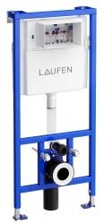 LAUFEN Rámový podomietkový modul CW1 SET s bielym tlačidlom + WC JIKA TIGO + SEDADLO duraplastu (H8946600000001BI TI3), fotografie 20/12