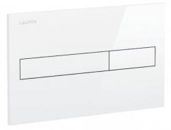 LAUFEN Rámový podomietkový modul CW1 SET s bielym tlačidlom + WC JIKA TIGO + SEDADLO duraplastu (H8946600000001BI TI3), fotografie 22/12