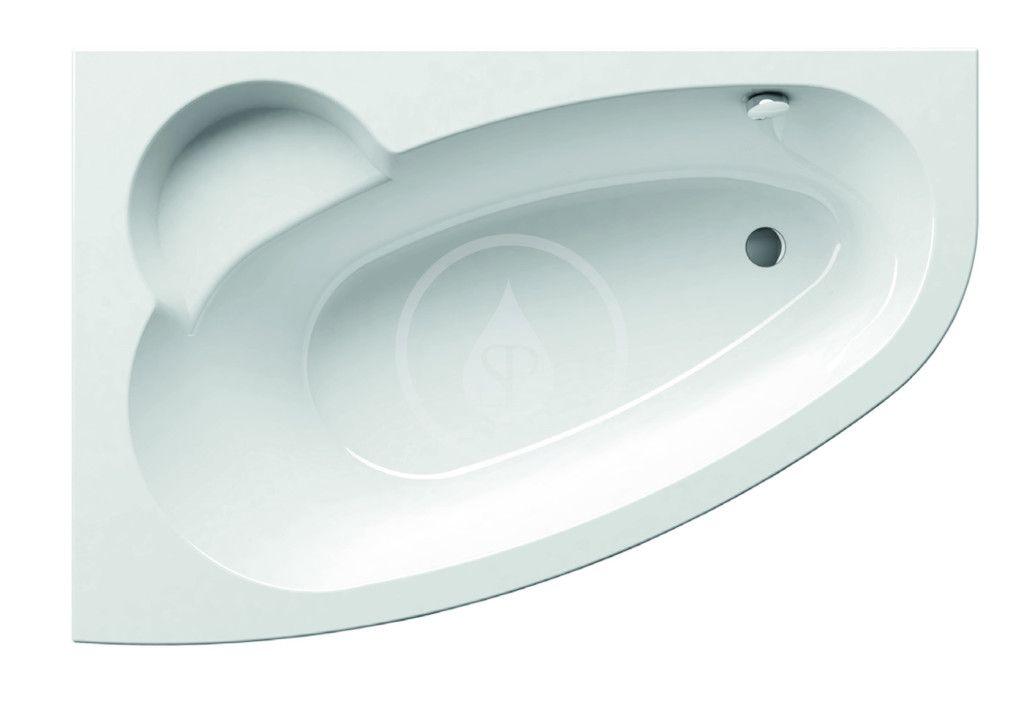 RAVAK - Asymmetric Asymetrická vaňa, 1600 mmx1050 mm, biela – vaňa, ľavá C461000000