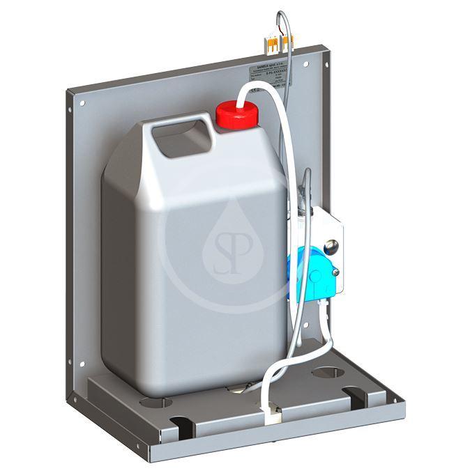 SANELA - Nerezové dávkovače Bezdotykový dávkovač mydla na umiestnenie za zrkadlo SLZN 84J