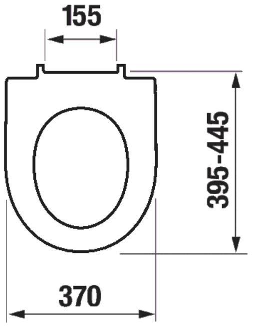 GEBERIT DuofixBasic s bielym tlačidlom DELTA51 + WC JIKA LYRA PLUS 49 + SEDADLO duraplastu SLOWCLOSE (458.103.00.1 51BI LY4)