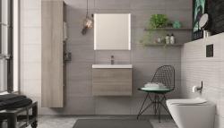 CERSANIT - WC sedátko CITY OVAL SLIM antib. OFF EASY jedno tlačidlo (K98-0146), fotografie 4/5