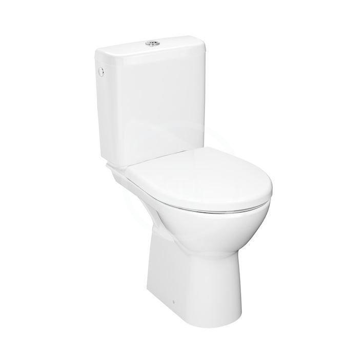 JIKA - Lyra plus WC kombi misa, vodorovný odpad, Rimless, biela H8273860002811