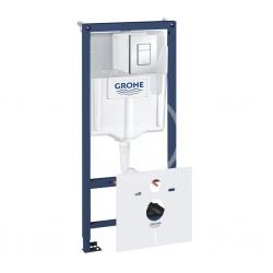 GROHE - Rapid SL Predstenová inštalácia na závesné WC, nádržka GD2, tlačidlo Skate Cosmo, chróm (38827000)