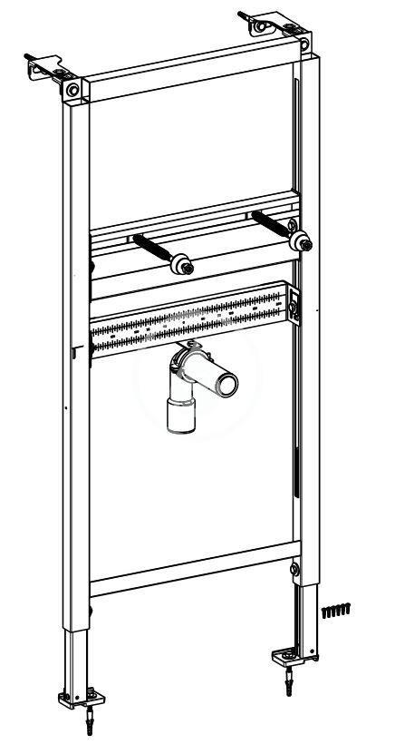 VILLEROY & BOCH - ViConnect Montážny prvok na umývadlo (92214900)