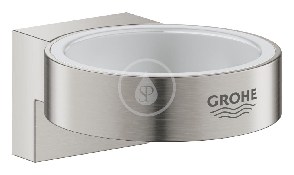 GROHE - Selection Držák skleničky/mýdelníku, supersteel (41027DC0)