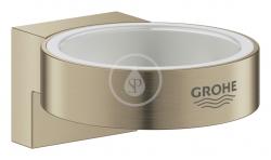 GROHE - Selection Držiak pohára/mydlovničky, kefovaný nikel (41027EN0)