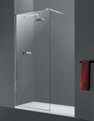 HOPA - Walk-in sprchový kout LAGOS - Barva rámu zástěny - Hliník chrom, Šíře - 80 cm (BCLAGO80CC)
