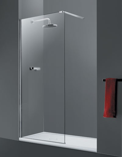 HOPA - Walk-in sprchový kout LAGOS - Barva rámu zástěny - Hliník chrom, Šíře - 90 cm (BCLAGO90CC)