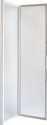 HOPA - Sprchové dveře DIANA - Barva rámu zástěny - Hliník bílý, Provedení - Univerzální, Šíře - 90 cm, Výplň - Polystyrol 2,2 mm (acrilico), Výška - 185 cm (OLBSZ90)