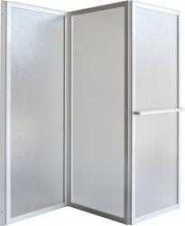 HOPA - Vanová zástěna KARINA - Barva rámu zástěny - Hliník bílý, Provedení - Univerzální, Šíře - 140 cm, Výplň - Polystyrol 2,2 mm (acrilico) (OLBVZ3)