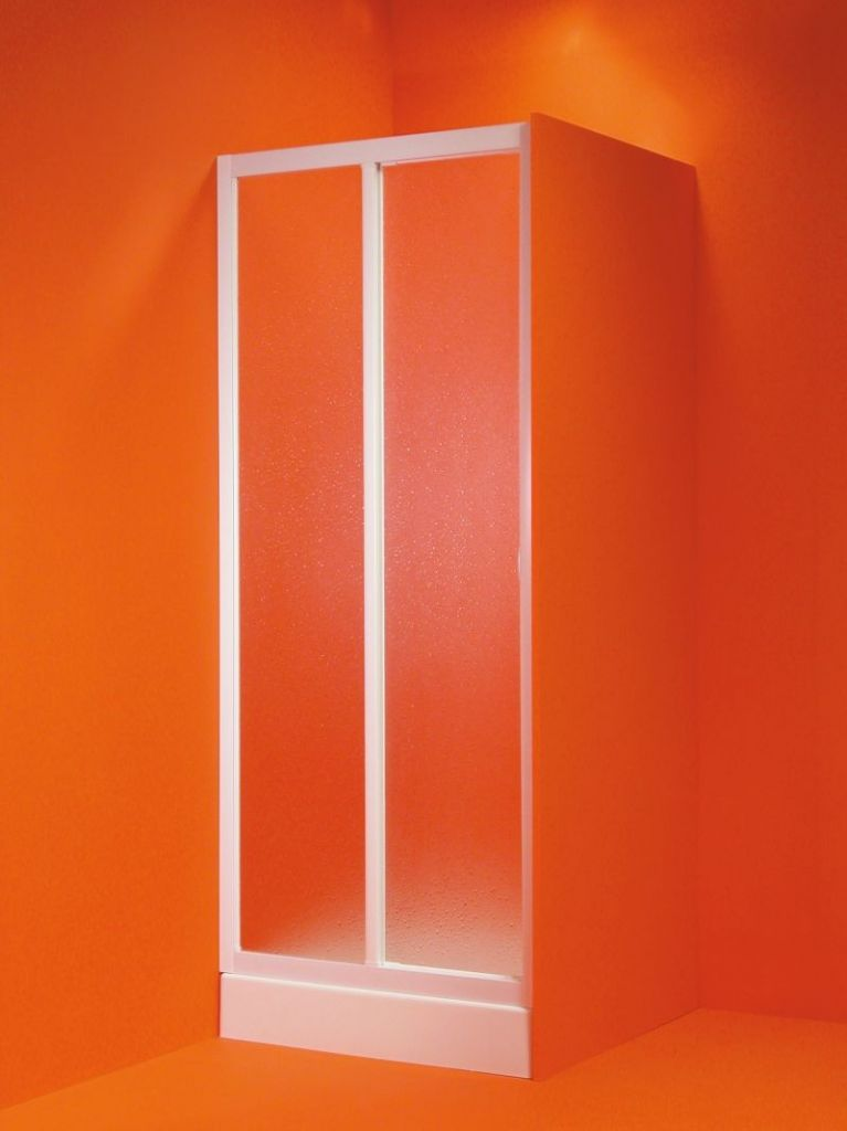 HOPA - Sprchové dvere PORTA - Farba rámu zásteny - Plast biely, Rozmer A - 140 - 150 cm OLBMAE15EX