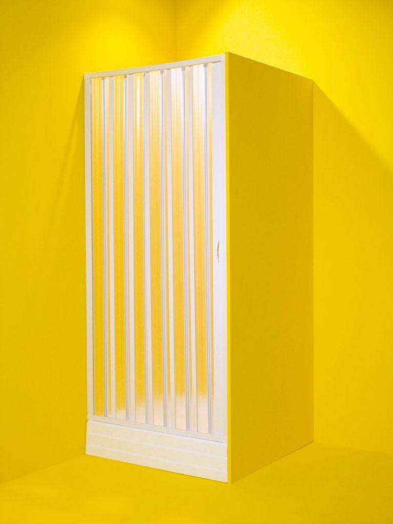 HOPA - Sprchové dvere MARTE - Farba rámu zásteny - Plast biely, Rozmer A - 80 cm, Smer zatváranie - Univerzálny Ľavé / Pravé OLBMAR80