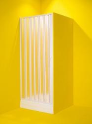 HOPA - Sprchové dveře MARTE - Barva rámu zástěny - Plast bílý, Provedení - Univerzální, Šíře - 80 cm (OLBMAR80)