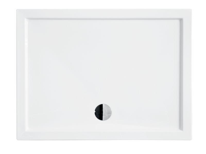 HOPA - Obdĺžniková sprchová vanička ALPINA - Rozmer A - 100 cm, Rozmer B - 80 cm OLBVANACALP108