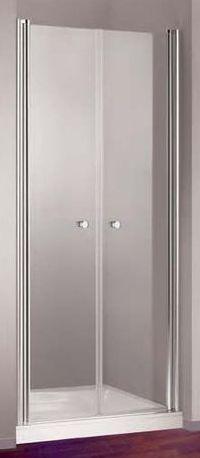 HOPA - Sprchové dveře VITORIA PLUS - Barva rámu zástěny - Hliník leštěný, Provedení - Univerzální, Šíře - 90 cm, Výplň - Čiré bezpečnostní sklo - 5 mm (OLBVITOP90CC)