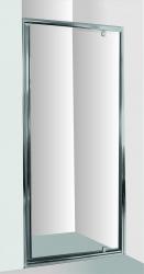 HOPA - Sprchové dveře do niky SMART - ALARO - Barva rámu zástěny - Hliník chrom, Provedení - Univerzální, Šíře - 70 cm, Výplň - Čiré bezpečnostní sklo - 6 mm (OLBALA70CCBV)