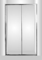 HOPA - Sprchové dveře do niky SMART - SELVA - Barva rámu zástěny - Hliník chrom, Rozměr A - 120 cm, Směr zavírání - Univerzální Levé / Pravé, Výplň - Čiré bezpečnostní sklo - 4 / 6 mm (OLBSEL12CCBV)