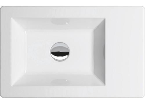 HOPA - Zápustné umývadlo THIN 55 × 35 cm (KEAZTHUM55I)