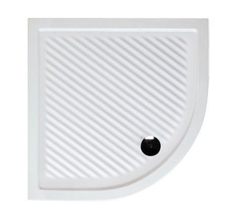 HOPA - Keramická štvrťkruhová sprchová vanička Ferda VANKEFE90