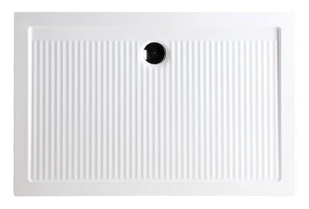 HOPA - Keramická obdélníková sprchová vanička FERDY II - Hloubka - 70 cm, Provedení - Univerzální, Šíře - 90 cm, Výška - 6,5 cm (VANKEFEII907)