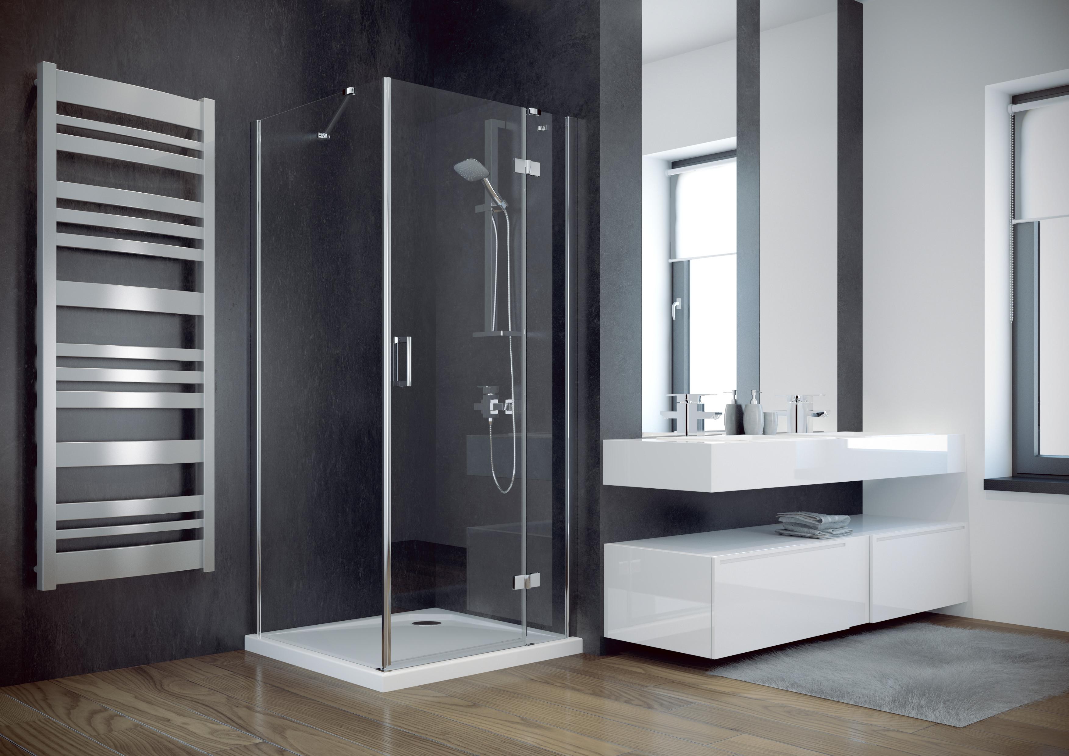 HOPA - Čtvercový sprchový kout VIVA 195C - Provedení - Pravé (DX), Šíře - 90 cm (BCVIV90CTVEP)