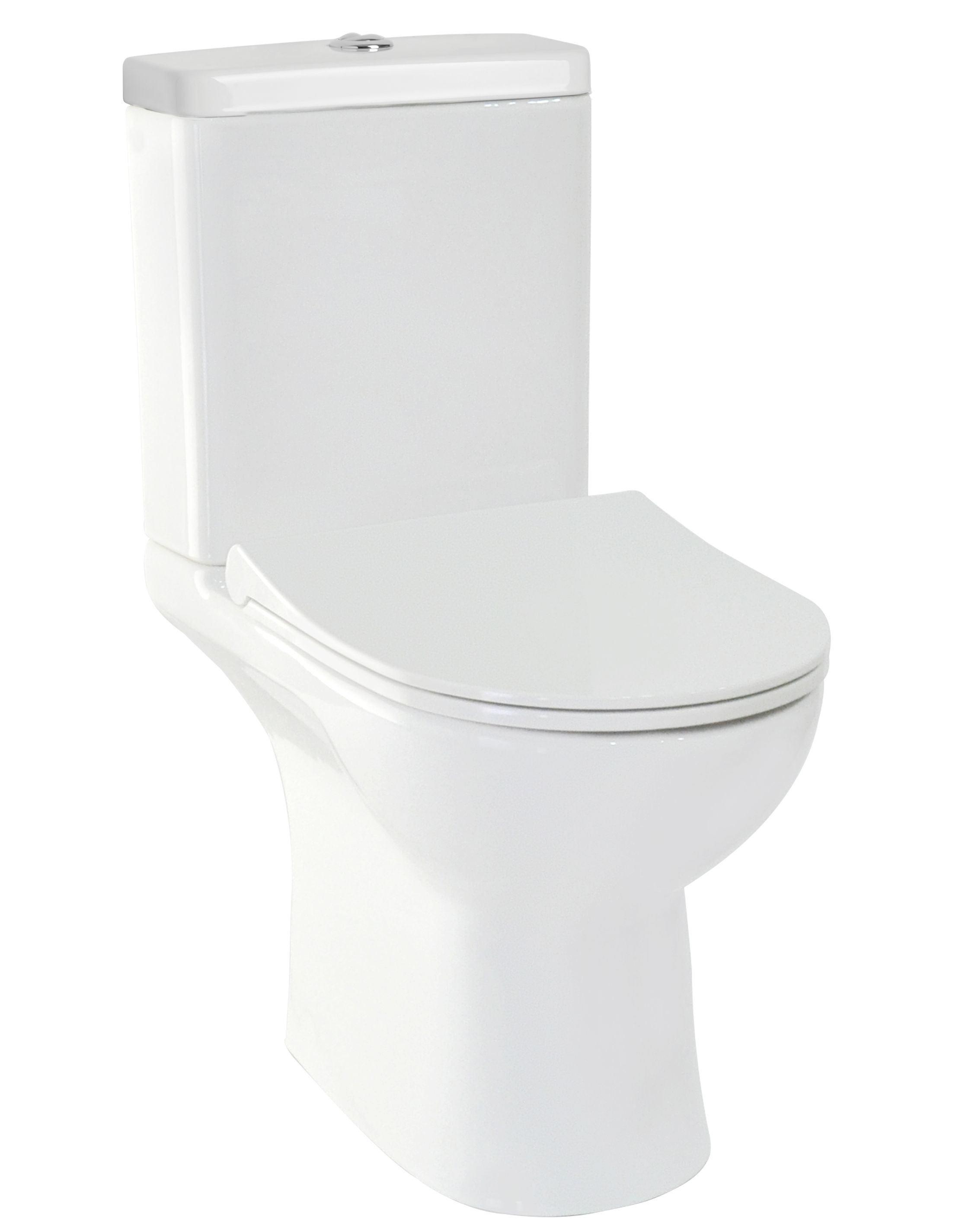 HOPA - WC TRIA RIMLESS so sedadlom SOFT-CLOSE OLKGTR00KRK48