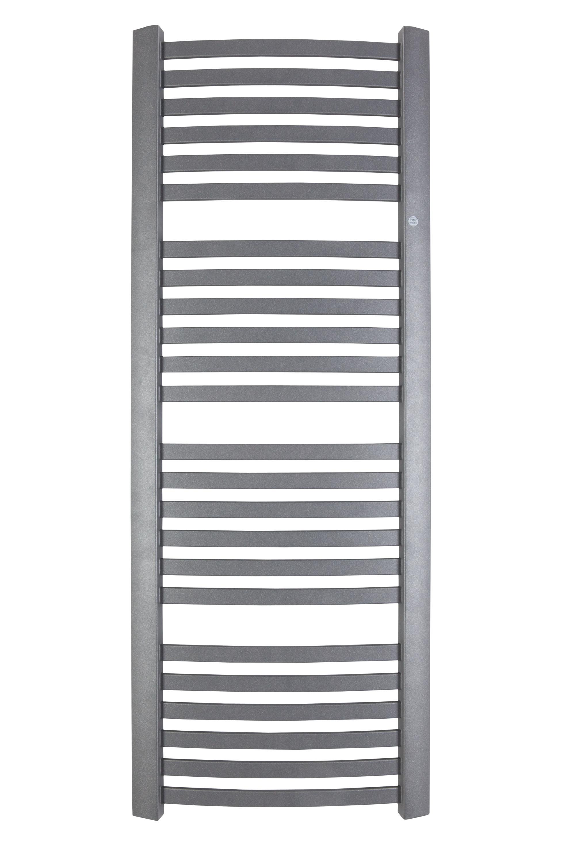 HOPA HOPA - Koupelnový radiátor RETTO - Připojení radiátoru - Spodní připojení, Radiátory - Barevné provedení HL - Grafit, Rozměr radiátoru HL - 540 × 1436 mm, výkon 678 W (RADRET501412)