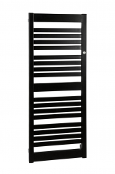 HOPA - Koupelnový radiátor FRAME SLIM - Radiátory - Barevné provedení HL - Černá, Rozměr radiátoru HL - 400 × 1078 mm, výkon 418 W (RADFRAS401131)
