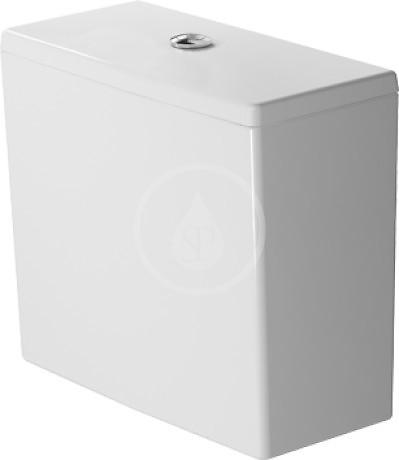 DURAVIT - ME by Starck Splachovací nádrž 390x180 mm, připojení vpravo/vlevo, bílá (0938000005)