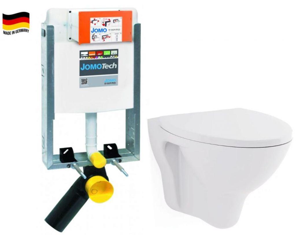 JOMO modul pre zamurovanie bez sedátka + WC CERSANIT ARES + SEDADLO 164-14600479-00 AR1