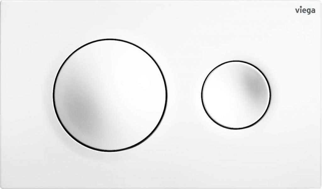 VIEGA Presvista modul PURE pre WC vrátane tlačidla Style 20 bielej + WC JIKA LYRA PLUS 49 + SEDADLO duraplastu SLOWCLOSE (V771928 STYLE20BI LY4)