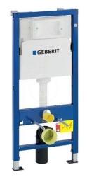GEBERIT - Duofix Montážny prvok na závesné WC, 112 cm, splachovacia nádržka pod omietku Delta 12 cm (458.103.00.1)
