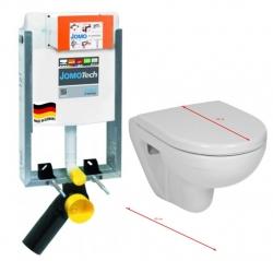 JOMO modul pre zamurovanie bez sedátka + WC JIKA LYRA PLUS 49 + SEDADLO duraplastu (164-14600479-00 LY3)