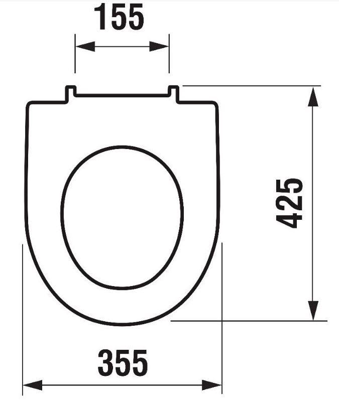 ALCAPLAST  Renovmodul - predstenový inštalačný systém bez tlačidla + WC JIKA LYRA PLUS 49 + SEDADLO duraplastu (AM115/1000 X LY3)