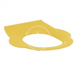 IDEAL STANDARD - Contour 21 WC doska detská bez poklopu, žltá (S454279)