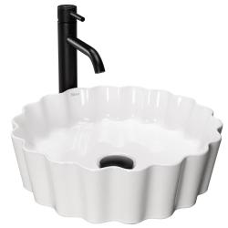 REA - Umývadlo na dosku Melisa 39x39 biela (REA-U4660)